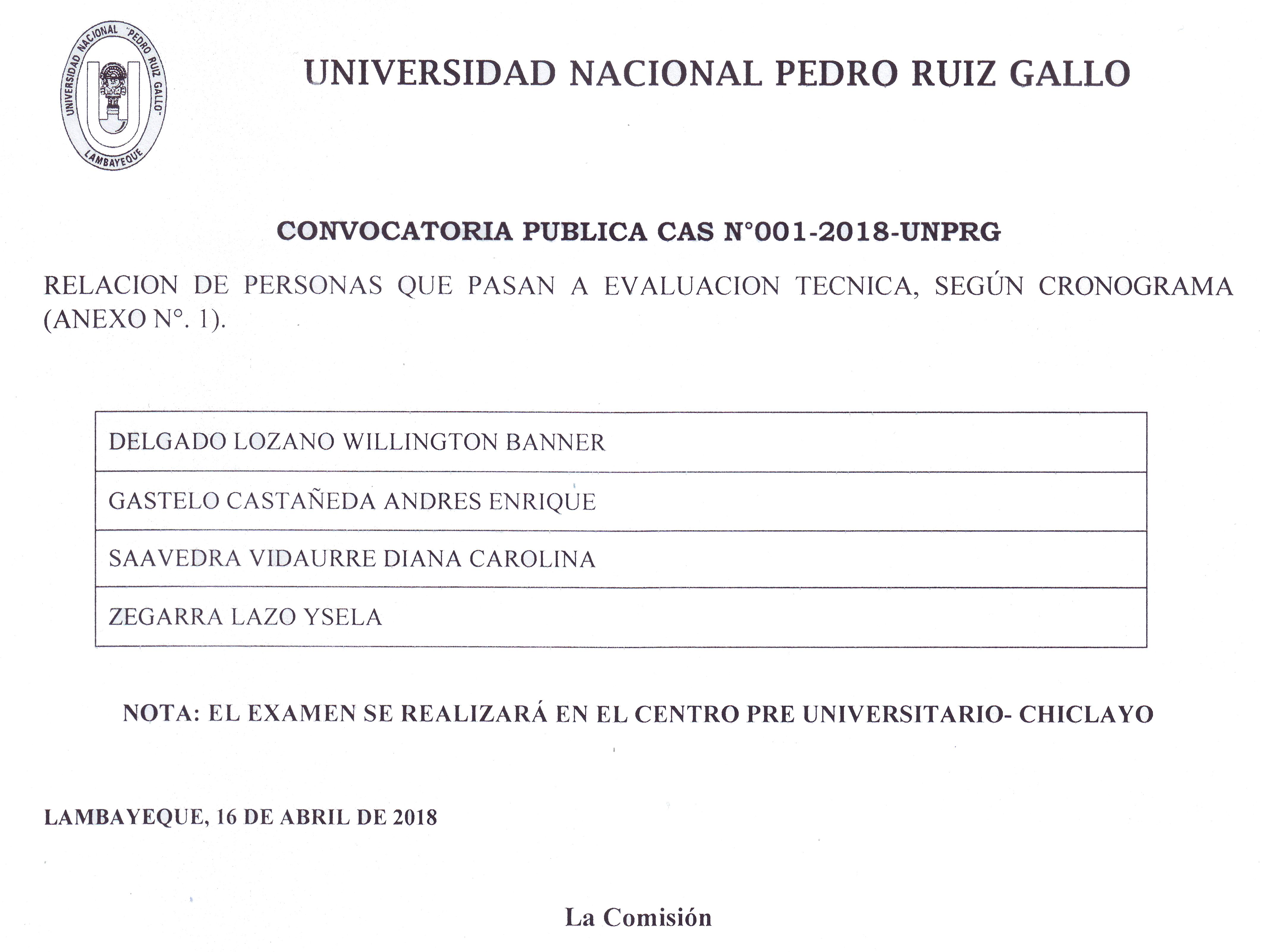 Noticias | Universidad Nacional Pedro Ruiz Gallo | UNPRG